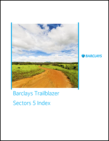 Barclays Trailblazer Sector 5 Index Overview
